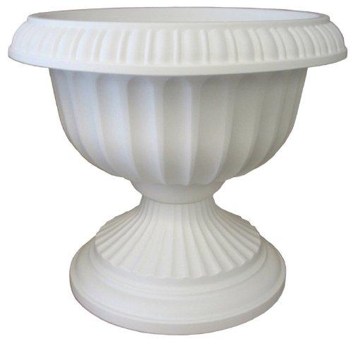 Bloem Gu1810-6 6-pack Grecian Urn 18-inch White
