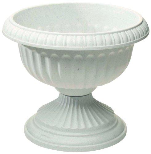 Novelty 39122 Gracian Urns White 12-inch