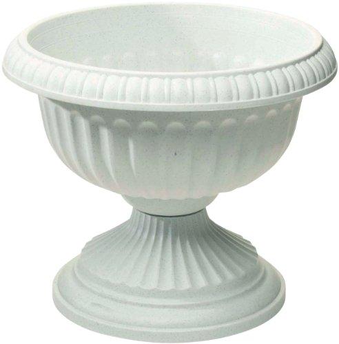 Novelty 39182 Gracian Urns White 18-inch
