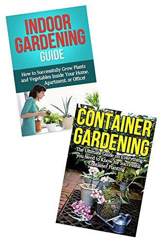 Gardening Box Set Bundle 12 Container Gardening Indoor Gardening Guide