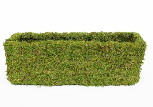Supermoss 29355 Mossweave Window Box Planter Fresh Green 24&quot