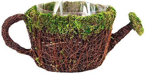 Supermoss 55260 7 Deco Watering Can Planter Basket Medium