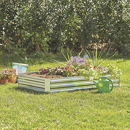 Kotulas Galvanized Steel Raised Garden Bed - 6ft x 3ft