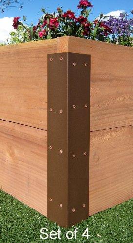 Raised Garden Bed Corner Brackets - For 20H Beds