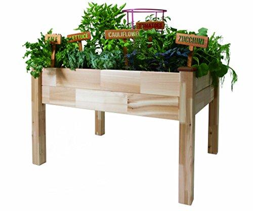 Cedarcraft Elevated Garden Planter 49&quot X 49&quot X 30&quot