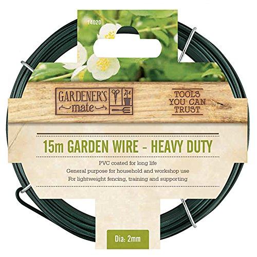 Gardman 6405 Heavy Duty Pvc Coated Garden Wire 50