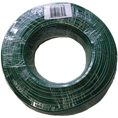 Leisure Products Soft Twist Tie Garden Wire - 250 Foot Roll