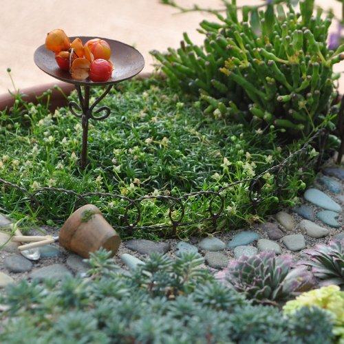 Miniature Fairy Garden Wire Edging