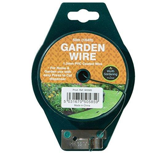 PVC Coated Green Garden Wire 164 spool
