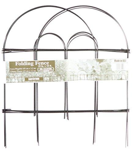 Glamos 779009 Folding Wire Fence Earthtone 18 X 10 Pack Of 12