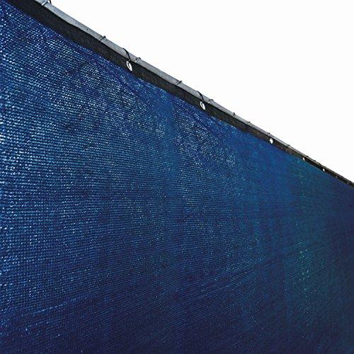 Aleko 6 X 25 Fence Privacy Screen Outdoor Backyard Fencing Windscreen Blue