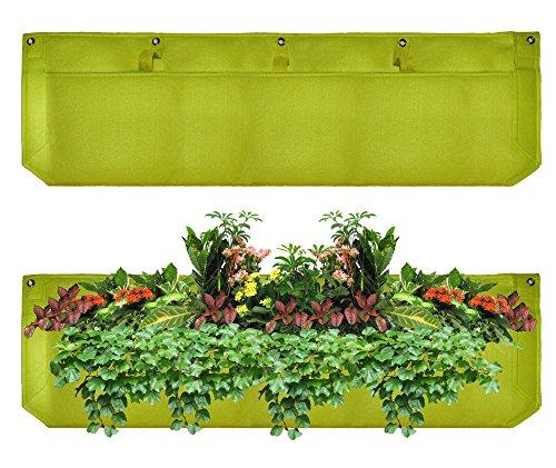 Large 1 Pocket Vertical Garden Planter By Invigorated Living Waterproof Garden Pots For Indooramp Outdoor Use