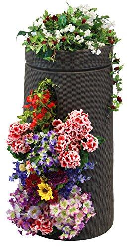 Good Ideas ANTE-DBR Antebellum Vertical Garden Planter Dark Brown