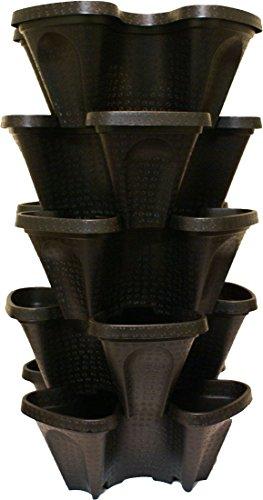 Mr Stacky Large 64 qt Vertical Garden Planter - Set of 5