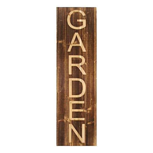 Stratton Home Décor Stratton Home Decor Wood Garden Panel Wall Décor 1000W X 150D X 3400H Brown