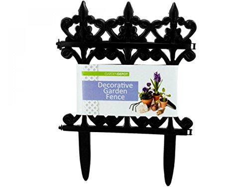 Decorative Garden Fence - Set of 144 Lawn Garden Lawn Garden Decor