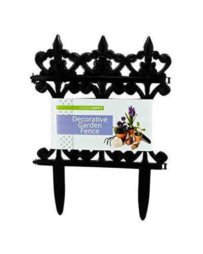 Decorative Garden Fence - Set of 24