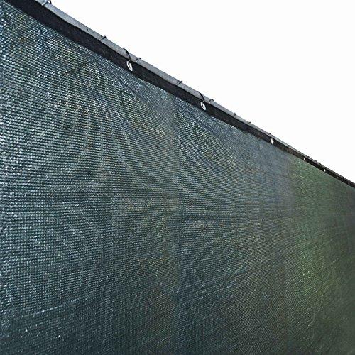 ALEKO PLK0825GR 8 X 25 Foot Fence Privacy Screen Outdoor Backyard Fencing Privacy Windscreen Green