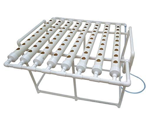 INTBUYING 72 Sites Hydroponic Grow Kit Ladder Type Indoor Grow Kit Water Garden Plant