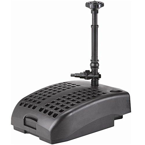 Pond Pumpamp Filtration System Includes Mechanical Biological Filters 9 Watt Uv Clarifier Plus Fountain Nozzle