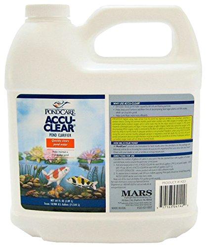 Pondcare 142d Accu-Clear Pond Clarifier White 64 Oz