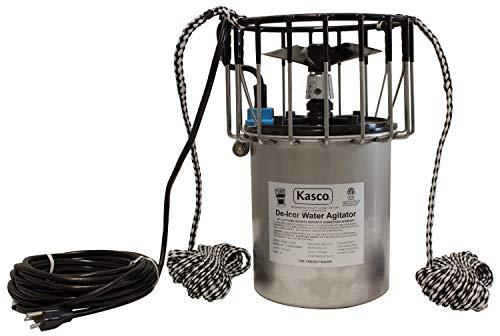 Kasco 3400D050 3400D 34 HP Marine De-Icer - 120V Single Phase 60Hz 50 Cord