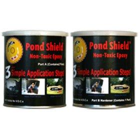 Pond Armor Pond Shield Epoxy 1-12 Quart Kit - Gray