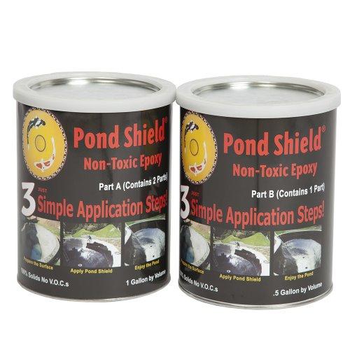 Pond Armor SKU-WHITE-GA Non-Toxic Pond Shield Epoxy Paint 15-Gallon White