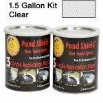 Pond Armor Pond Shield Epoxy 1-12 Gallon Kit - Clear