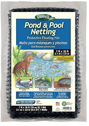 Gardeneer By Dalen PN-10 Pond Pool Netting Protective Floating Net 7 x 10