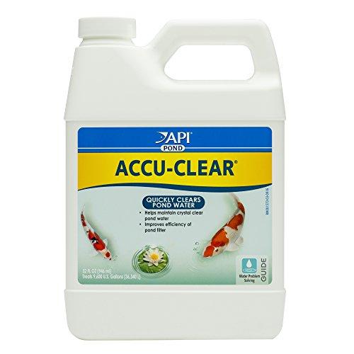 API POND ACCU-CLEAR Pond Water Clarifier 32-Ounce Bottle