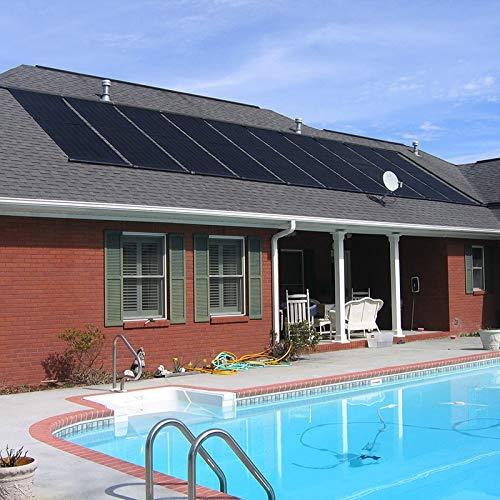 XtremepowerUS IngroundAbove Ground Swimming Pool Solar Panel Heating System 28 X 20