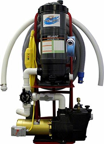 Tomcat Top Gun Pro Portable Pool Vacuum System w15 HP Hayward Pump