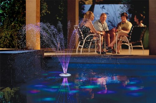 GAME 3588 AquaJet Swimming Pool Light Show and Fountain with Remote Discontinued by Manufacturer