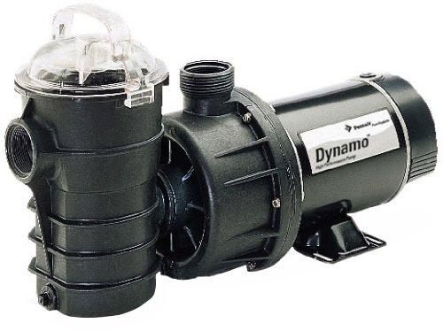 Pentair 340400 Dynamo Two Speed Aboveground Pool Pump with 3-Feet Twist Lock Cord 1-12 HP