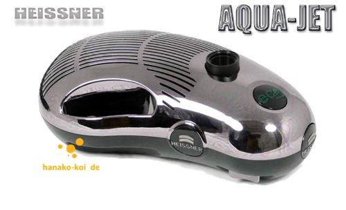 Heissner ECO 1900 lh Aqua Jet Premium Water Feature Pump - Black