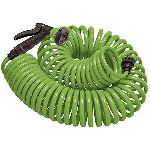 Orbit 27389 Coil Garden Hose 50 ft Green