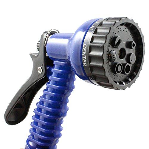 Fenzer Garden Hose Nozzle 7 Spray Pattern Blue Hand Sprayer Pistol Grip Front Trigger For Car Wash Cleaning
