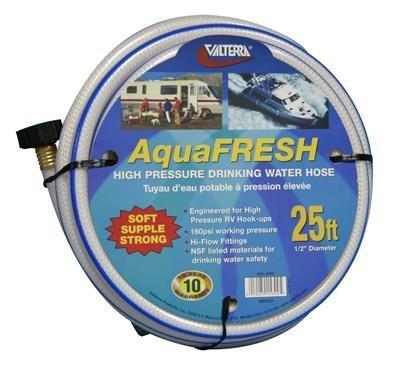 RV Trailer Camper Aquafresh Drinking Water Hose 12 X 25 VALTERRA W01-5300
