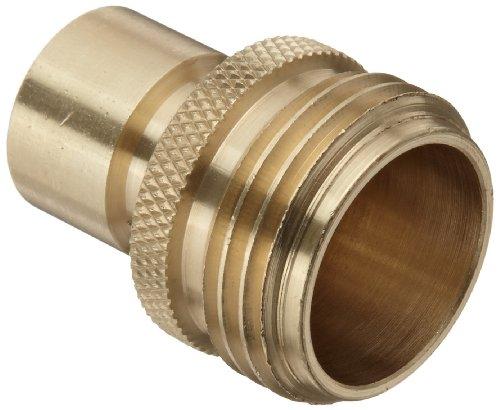 Dixon Dgh7p Brass Quick-connect Fitting Garden Hose Male Plug 200 Psi Pressure
