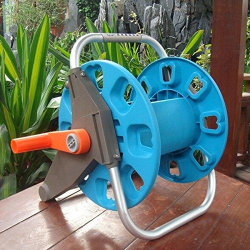 Garden Water Hose Reel Cart Pipe Rack Portable Garden Hose Car