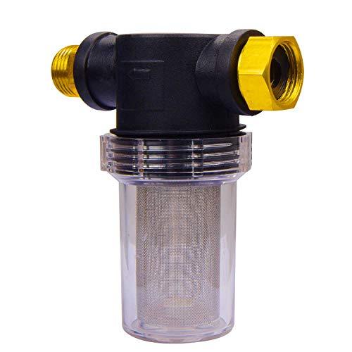 DUSICHIN DUS-234 Filter Garden Hose Pressure Washer Inlet Water Metal Outdoor Gardening 34 40 mesh