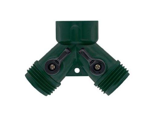 10 Pack - Orbit Water Faucet Hose Shut off Valve - Dual Port