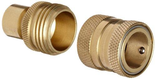 Dixon Dgh7 Brass Quick-connect Fitting Garden Hose Complete Set 200 Psi Pressure