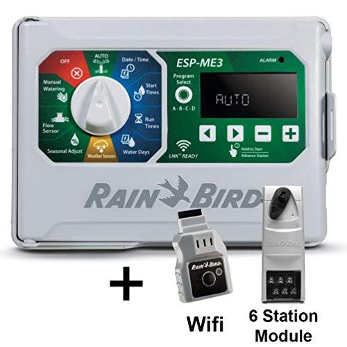 Rain-Bird Controller Indoor Outdoor Lawn Irrigation Sprinkler Timer ESPME3  WiFi  1 Module