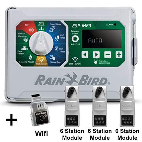 Rain-Bird Controller Indoor Outdoor Lawn Irrigation Sprinkler Timer ESPME3  WiFi  3 Modules
