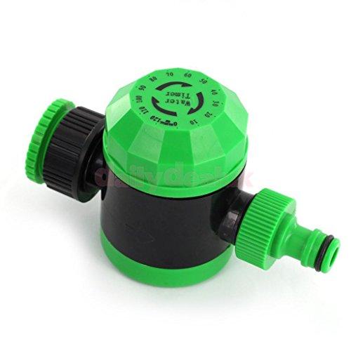 Automatic Mechanical Water Timer Garden Hose Irrigation Sprinkler Green ~item gh8 3h-j3g8325746