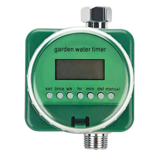 NYW-Guangaiqi Rain Sensor LCD Display Automatic Mechanical Water Timer Electronic Watering Timer Irrigation Controller Garden Plant Watering