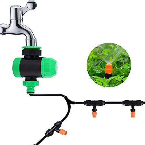 TQ 2 Hours Automatic Mechanical Water Timer Hose Sprinkler Irrigation Controller Garden Supply Drip Irrigation Controller