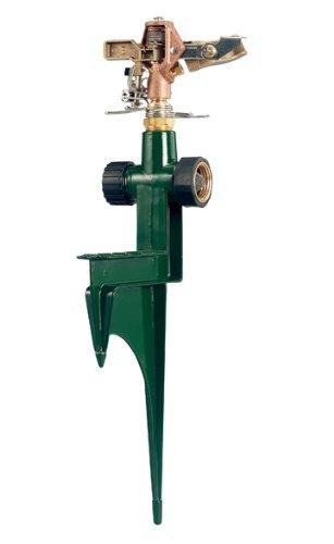 Orbit Heavy Duty Lawn Impact Sprinkler Head with Step Base Tri-Lingual